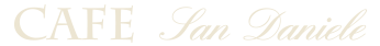 Cafe San Daniele Logo